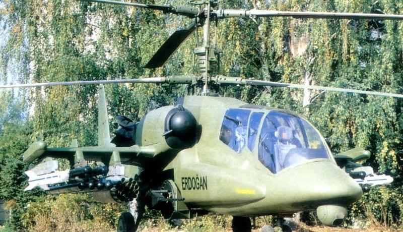 """Erdogan """"e pagëzon"""" me emrin e tij super-helikopterin e ri luftarak (Foto)"""