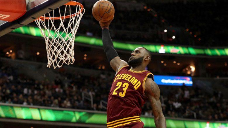 'Mbreti' James me rekord të ri pikësh në NBA