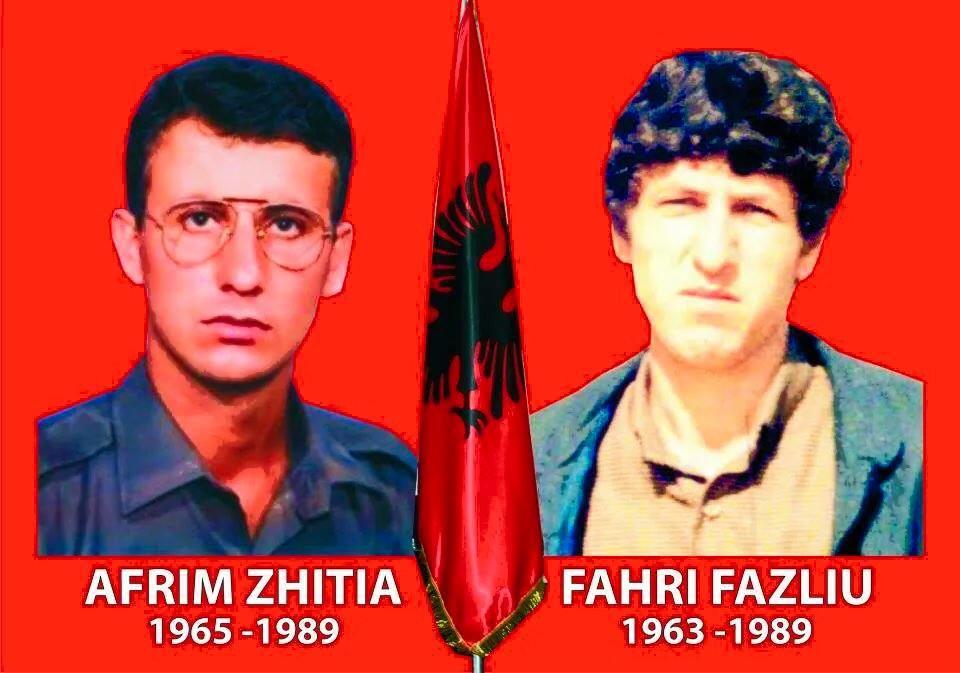 AFRIM ZHITIA E FAHRI FAZLIU, DY HERONJ TË KOSOVËS
