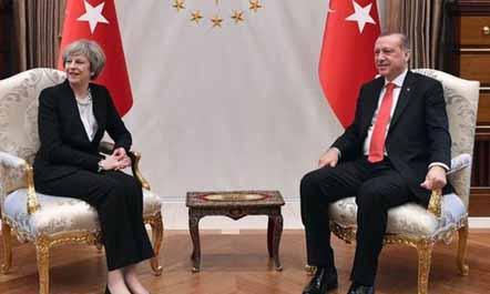 May në Ankara: Britani-Turqi do intensifikojnë marrëdhëniet