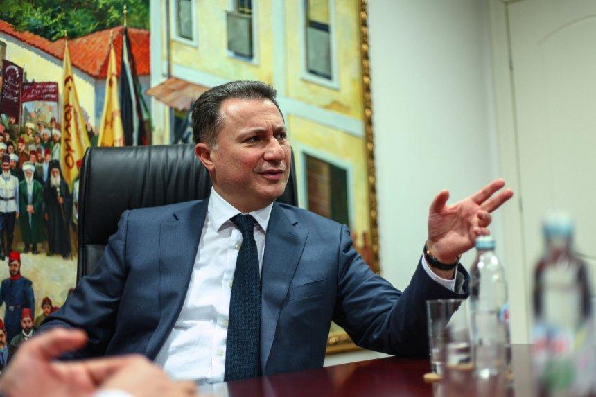 Kur Nikola Gruevski e lëvdëron Arbën Xhaferin: Ishte i mençur dhe mendjendritur
