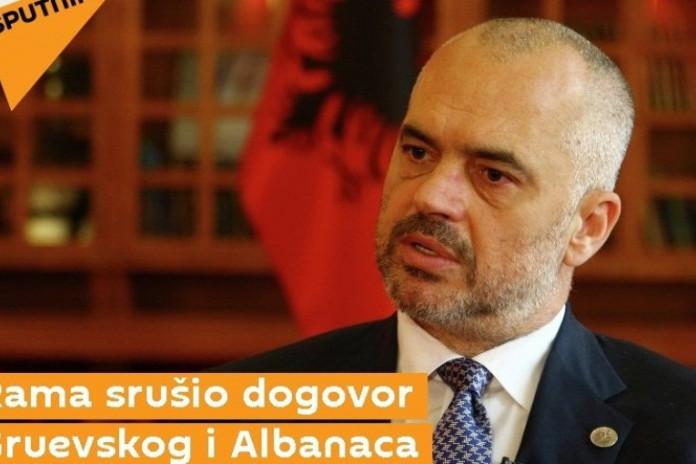 Mediat ruse: Rama rrëzoi Gruevskin, platforma shqiptare u hartua në Tiranë