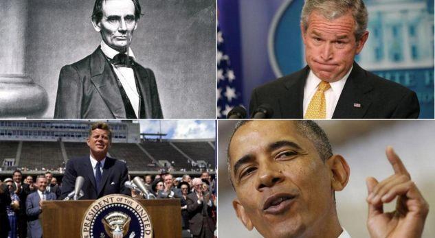 Thënie të famshme të presidentëve pas marrjes së detyrës