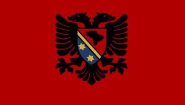 Shqiptarët e Sanxhakut me flamurin e tyre (FOTO)