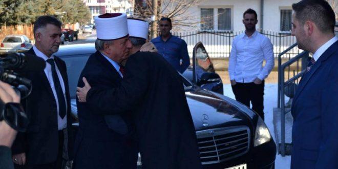 Takohen në Beograd, krerët e Bashkësive Islame Maqedoni – Serbi