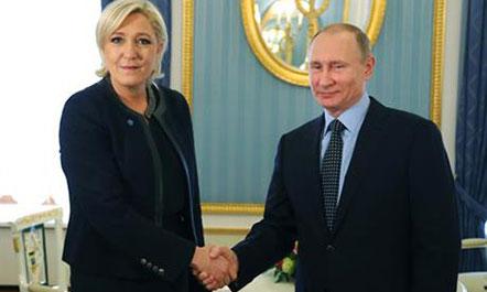 Putin takon Le Penin: S'ndërhyjmë në zgjedhjet e Francës