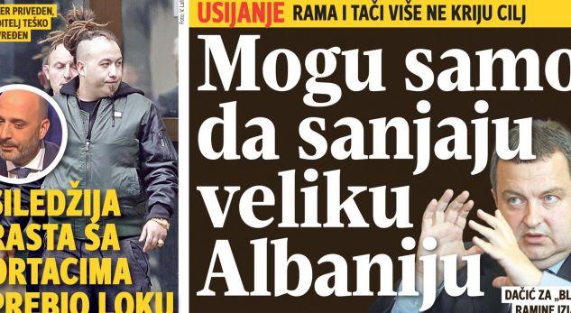 Anketa: 48% e serbëve mendojnë se Kosova do t'i bashkohet Shqipërisë