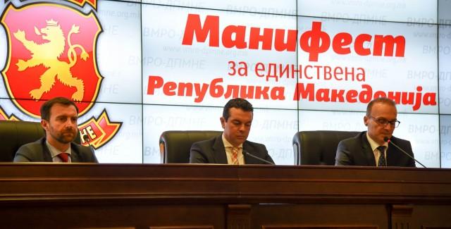 Ekspertët: Manifesti i VMRO-së çon vendin në sistem totalitar