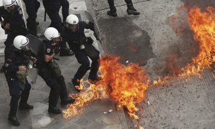 Greqi, qytetarët përplasen me  policinë, kundër masave ekonomike