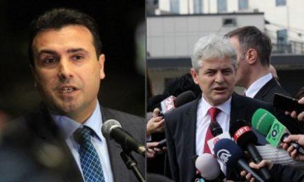 Gjatë takimit të sotëm, Zaev insiston që të takohet vetëm me Ahmetin pa prezencën e ish-funksionarëve të afërm me VMRO-në