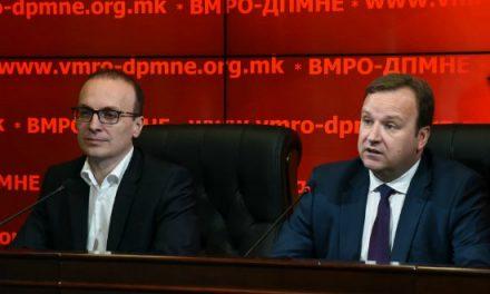 DIMITRIEV: KJO NUK DO TË KALOJË, VMRO – DPMNE: PPS DHE SDS DUAN TË NA SHKATËRROJNË