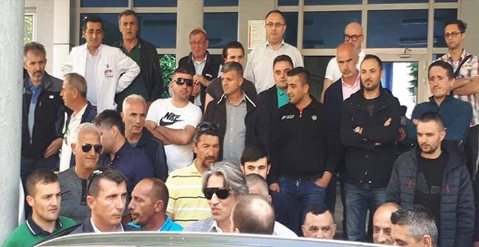 Ziadin Sela largohet nga Spitali i Tetovës (Video)