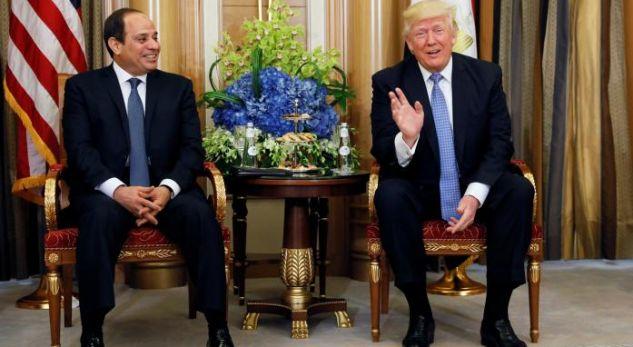 Presidenti i Egjiptit e përshkruan Trumpin si personalitet të veçantë që është në gjendje ta bëjë ta pamundurën