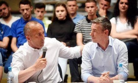 Haradinaj i përgjigjet LDK'së për akuzën e koalicionit të territ