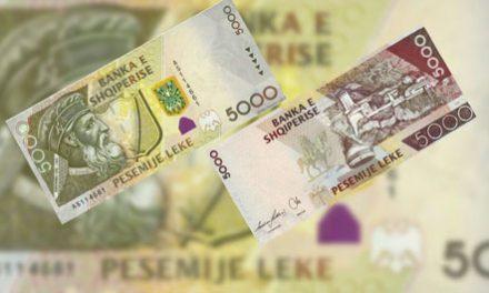 Kartëmonedhat e reja të shtetit Shqiptar