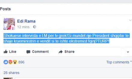 Meta për TV grek, Rama: Turp!