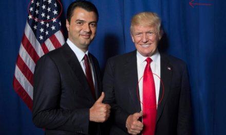 Lulzim Basha e takoi Donald Trump, si… biznesmen