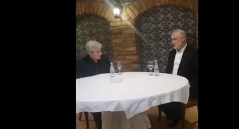 Takohen Ali Ahmeti dhe Menduh Thaçi, ja se për çka bisedojnë
