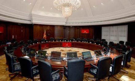 Sot mbahet seanca e parë e Qeverisë së re të Maqedonisë
