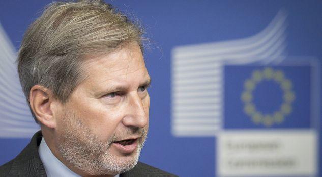 Hahn: Shpresoj që nuk do të duhen 9 muaj për krijimin e Qeverisë