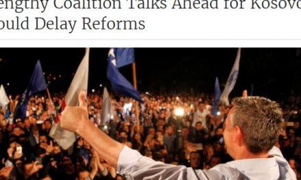 Reuters: Krijimi i Qeverisë mund të marrë shumë kohë