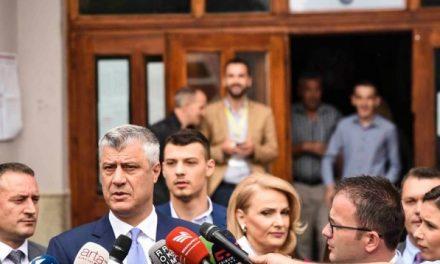 Thaçi: Këto zgjedhje janë të rëndësishme për afirmimin e Kosovës