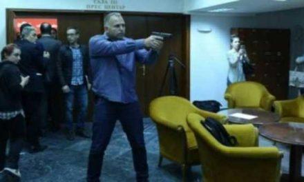 Promovohen pjesëtarët e sigurimit të cilët mbrojtën deputetët më 27 prill në Kuvendin e Maqedonisë
