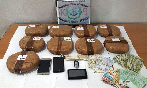 Igumenicë, kapen 10.5 kg heroinë, mes të arrestuarve dhe 3 shqiptarë