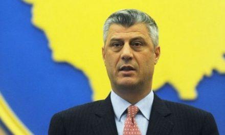 Thaçi: Gjuriq hyri të dielën në Kosovë, e kaloi natën te Radojçiqi